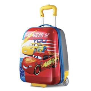 "American Tourister Kids Trolley Luggage  18"" Upright, Disney Cars"