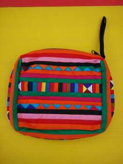 Handmade Patterned Pouch