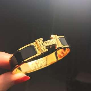 H bracelet S clic clac black