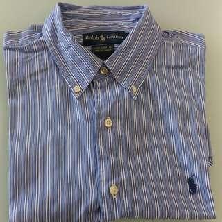 Ralph Lauren custom fit dress shirt (size 16/175/96A)
