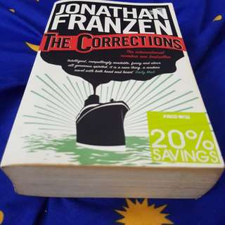 "Novel: ""The Corrections"" by Jonathan Franzen"