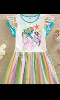 Pony dress size 3-4y and 4-5y