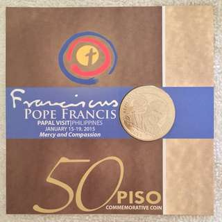 Pope Francis Commemorative Coin