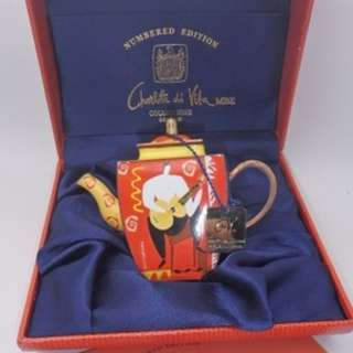 Charlotte di Vita COLLECTIONS ~ 2003年 限量版 銅制 TEAPOT