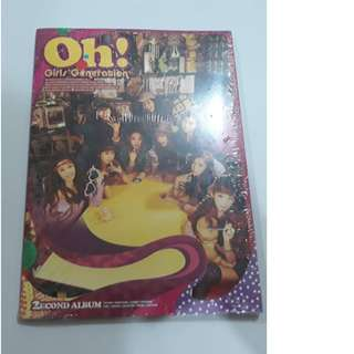 ON HAND SEALED SNSD 2nd Full Album - OH!