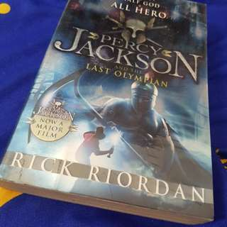 "Novel: ""Percy Jackson and the Last Olympian"""