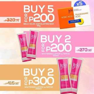 Belo Kojic and Lotion (SALE)