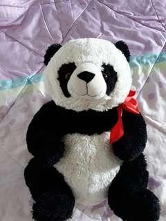 Blue Magic Panda with sleeping panda eye mask