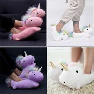 Unicorn Cotton Home Slippers