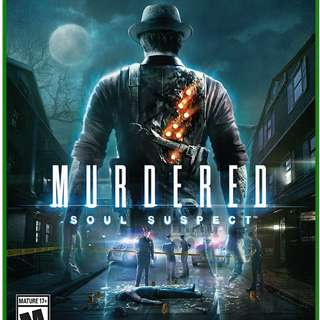 Xbox one - Murdered : Soul Suspect M18
