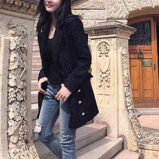 BN High quality thick tweed Long Jacket/dress