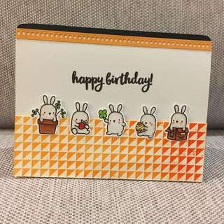 Handmade Inside Pop Up Card