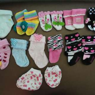 Baby girl socks