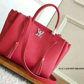 原单 LV Lockmeto Red and pink