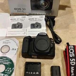 Canon EOS 5D Mark IV 單眼相機 公司貨