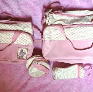 4pc diaper bag