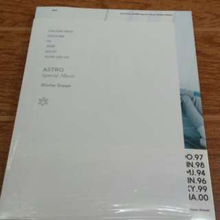 ON HAND SEALED ASTRO Special Album - WINTER DREAM