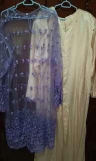 Plus size pre loved baju kurung and punjabi