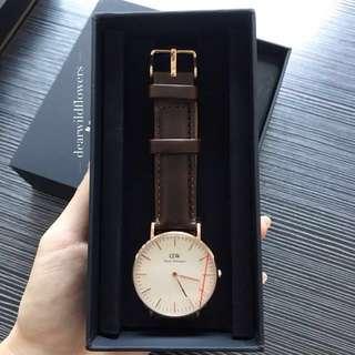 全新包裝 Daniel Wellington 36/40mm Classic 手錶 手鐲