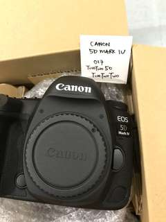 WTS Canon 5DM4 and Canon 24-70 F2.8 MK2