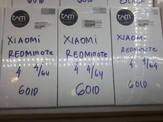 Xiaomi Redminote 4 4/64 Bisa Kredit 3 Menit Bwa Brg