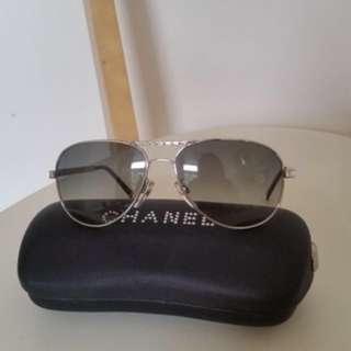 Authentic Chanel Aviator Sunglasses