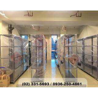 *Metal Rack x Adjustable Shelves ( office partition )