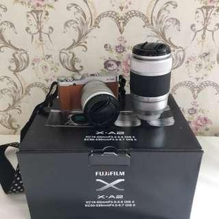 Fujifilm xa2 double lens