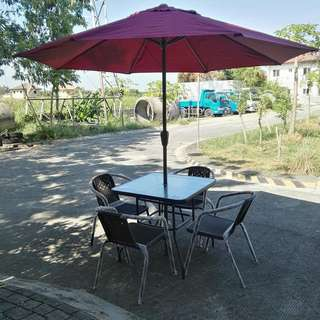 4 Seater outdoor dining set