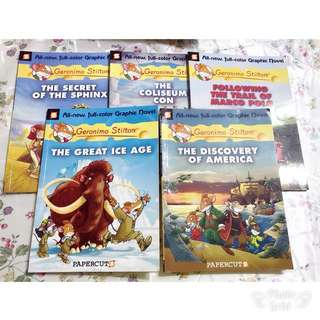Geronimo Stilton Comic Books