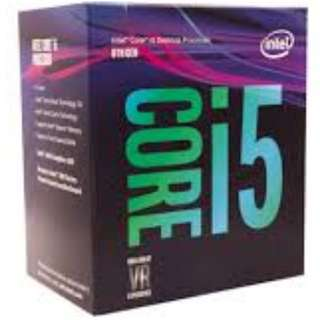 Intel Core i5-8400 Coffee Lake 6-Core 2.8 GHz (4.0 GHz Turbo) - 8th Gen