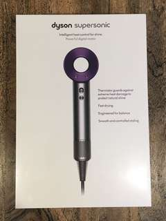SEALED Dyson Supersonic Hair Dryer