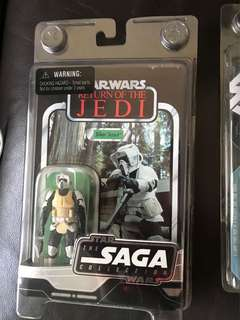Star Wars saga vintage collection scout trooper