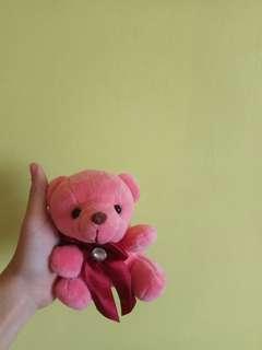 pink stuffed bear