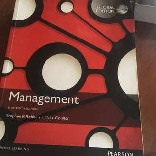 MANAGEMENT THIRTEENTH EDITION BY STEPHEN P. ROBBINS • MARY COULTER