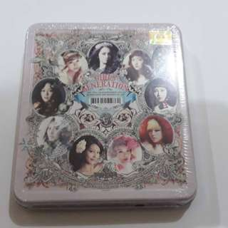 ON HAND SEALED SNSD 3rd Full Album - THE BOYS