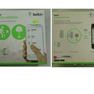 全新Belkin Switch+Motion
