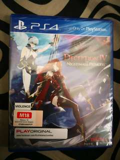 WTS deception IV Nightmare Princess