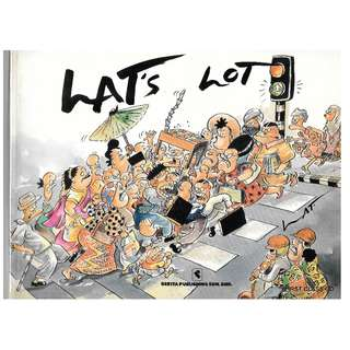 MY COMIC BOOK - LAT - LAT'S LOT (THIS BOOOK IS THE 9TH REPRINT OF 1994) FREE DELIVERY