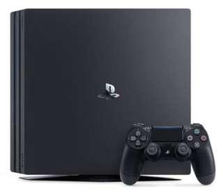 BNIB PS4 Pro 1TB