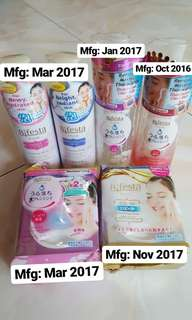 Bifesta Cleanser and Make Up Remover