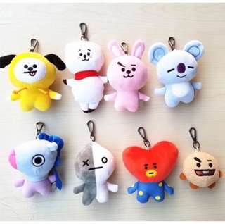 [PO] BT21 UNOFFICIAL BAG CHARM