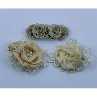 Floral Handcrafted Hairclip (BNWT)