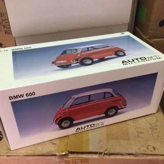 1/18 BMW 600. Red.