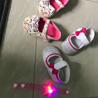 #blessing baby girl carter shoes 13cm and wrist band