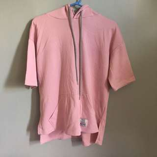 Pink Oversized Hoodie