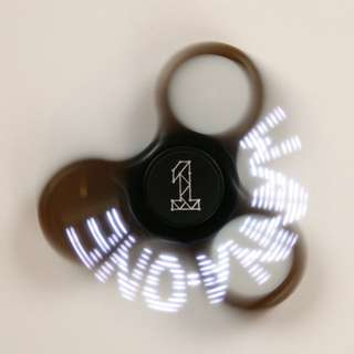 ON HAND SEALED WANNA ONE Official Goods - LED FIDGET SPINNER