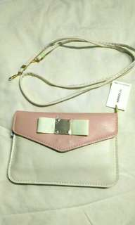 Miniso Pastel Pink Pouch Bag
