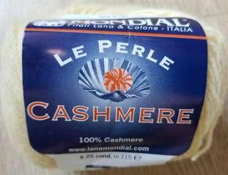 義大利無敵牌純茄士咩毛冷毛線 Italy Mondial Le Perle Cashmere yarn