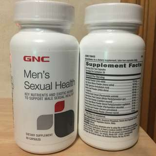 $330/2樽 😎Male Health😎 GNC (60粒)